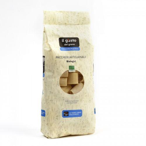 Paccheri Di Semola Artigianali Bio 500 g (min. acquisto 10 pezzi)
