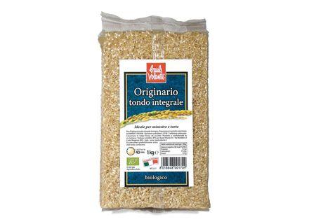 Riso originario tondo integrale 1 kg BIO  (min. acquisto 10 pezzi)