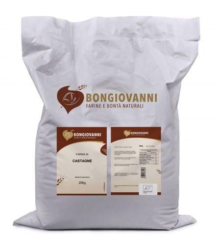 Farina di Castagne 20Kg BIO Senza Glutine