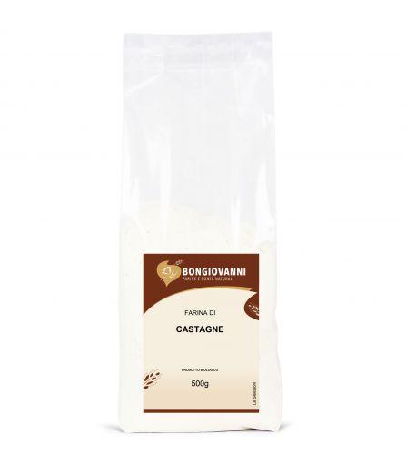 Farina di Castagne 500 g BIO senza glutine