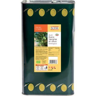 Olio extra vergine di oliva in latta 3 L BIO