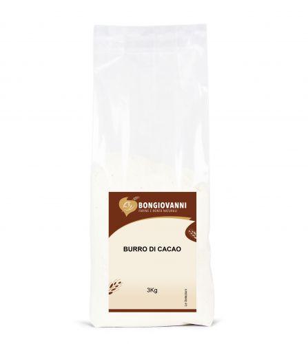 Burro di Cacao in gocce 3Kg