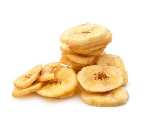 Banana in chips fritte