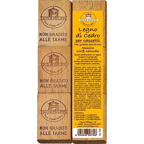 Profumatori per cassetti al cedro (6 pezzi) 70 g (6 pezzi)