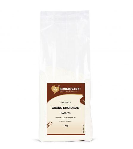 Farina di grano khorasan KAMUT® Setacciata (bianca) 1Kg BIO