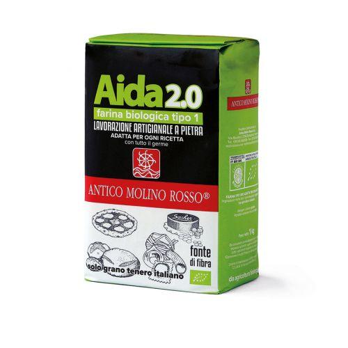 Aida per tutto farina semintegrale tipo 1 - 1 kg BIO  (min. acquisto 10 pezzi)