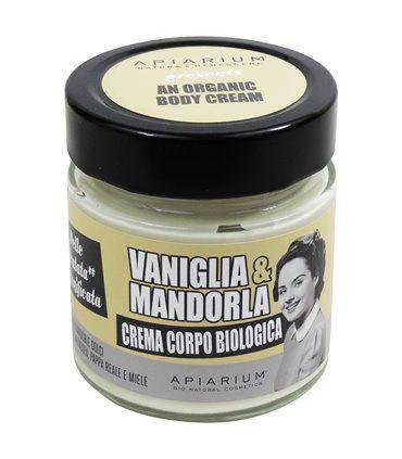 Crema corpo vaniglia e mandorla 200 ml BIO  (6 pezzi)