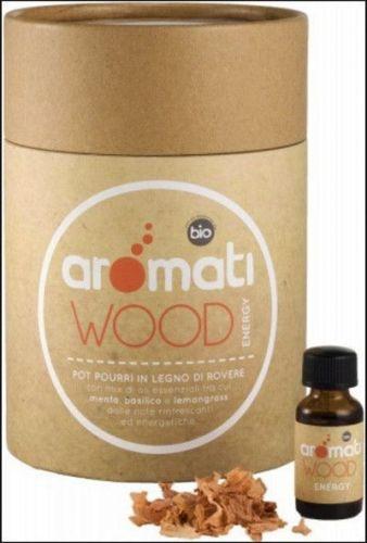 Aromati wood energy small - con oli essenziali bio 230  (6 pezzi)