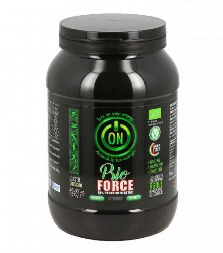 Proteine vegetali 78% - gusto vaniglia 750 g BIO senza glutine