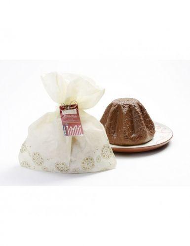 Dolce Farcito Chocolò Ricoperto Cioccolato Latte E Fondente 750 g (min. acquisto 6 pezzi)