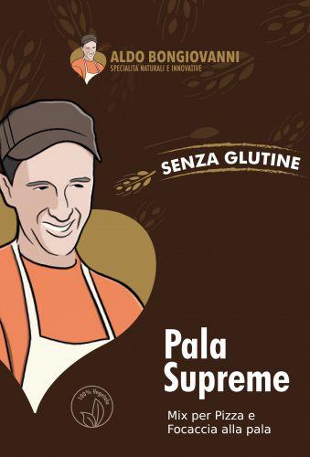 Pala Supreme Professional - Miscela per Pizza alla Pala Senza Glutine 5Kg