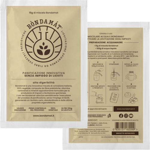 Coadiuvante per Panificazione in polvere Bòndamàt 15g