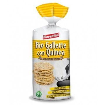 BioGallette Con Quinoa Senza glutine 120 g