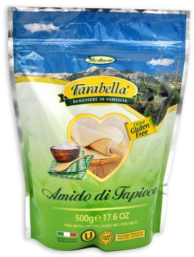 Amido di Tapioca 500 g senza glutine e senza lattosio