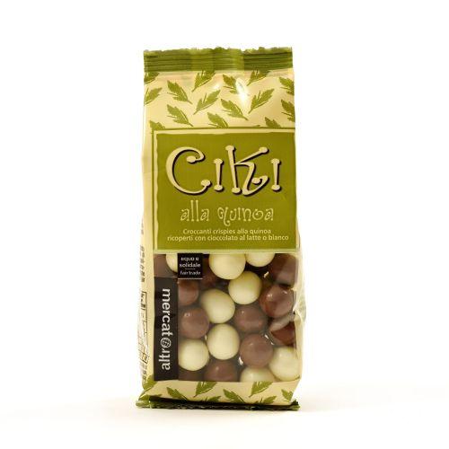 Ciki Dragees Di Quinoa Ricoperti Al Cioccolato 100 g (min. acquisto 10 pezzi)