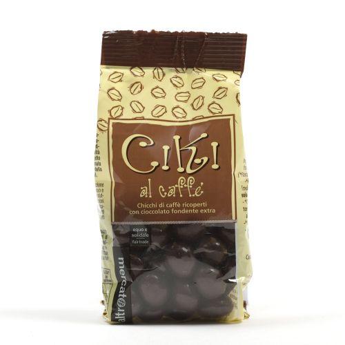 Ciki Dragees Di Caffè Ricoperti Al Cioccolato 100 g (min. acquisto 10 pezzi)