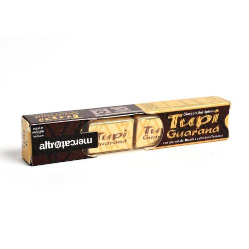 Cioccolatini Ripieni Tupì Al Caffè E guaranà 4 Pz 37 g (min. acquisto 10 pezzi)