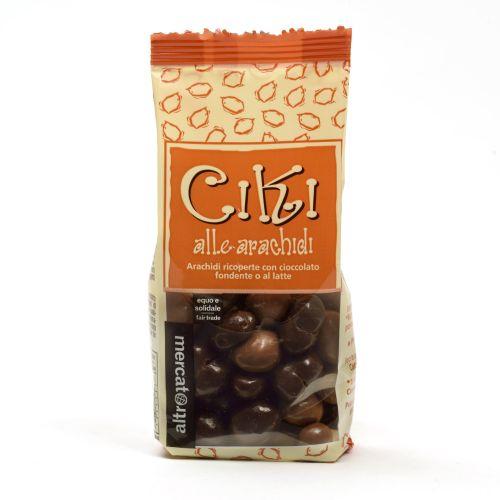 Ciki Dragees Di Arachidi Ricoperti Al Cioccolato 100 g (min. acquisto 10 pezzi)
