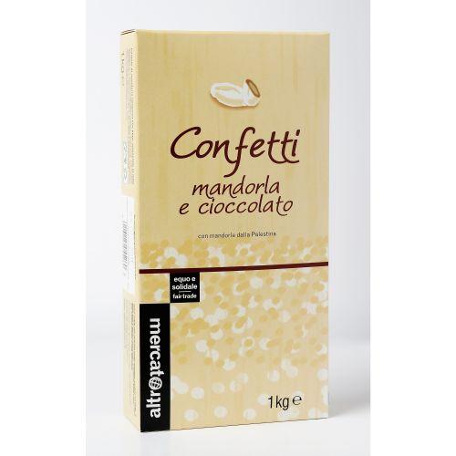 Confetti Mandorla E Cioccolato Al Latte 1 Kg (6 pezzi)
