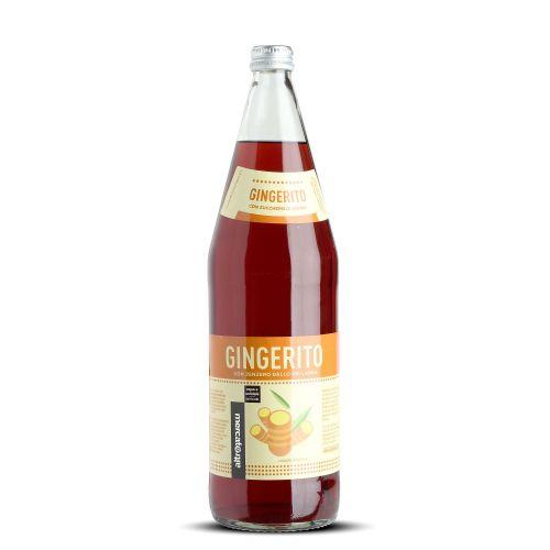 Bevanda gassata gingerito Allo Zenzero 1 Litro (min. acquisto 10 pezzi)