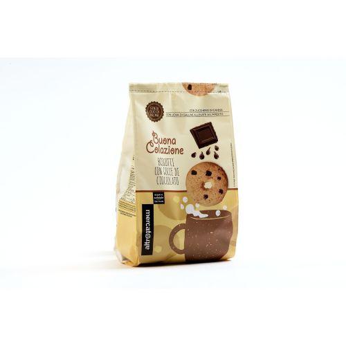 Biscotti Con gocce Di Cioccolato 300 g (min. acquisto 10 pezzi)
