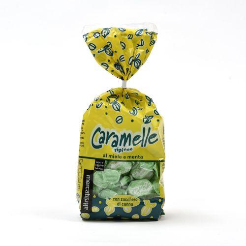 Caramelle Ripiene Al Miele E Menta 200 g (min. acquisto 10 pezzi)