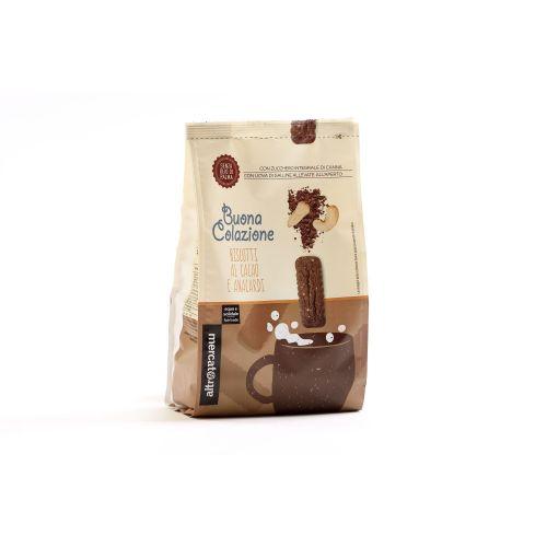 Biscotti Con Cacao E Anacardi 300 g (min. acquisto 10 pezzi)