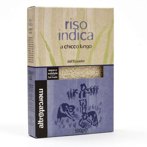 Riso Indica Ecuador 500 g (min. acquisto 10 pezzi)