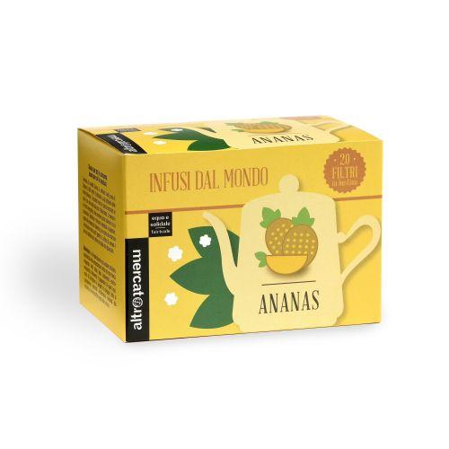 Infuso Ananas In Filtri 20 Filtri 50 g  (min. acquisto 10 pezzi)
