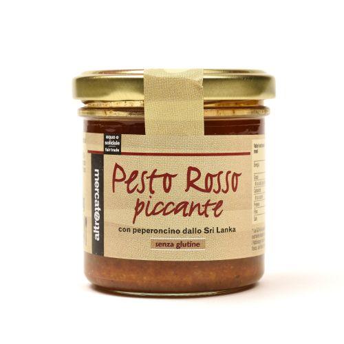 Pesto Rosso Peperoncino E Anacardi 130 g (min. acquisto 10 pezzi)