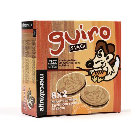 Biscotto Snack guiro Al Miele Con Cacao 30 g 2 Pz (min. acquisto 10 pezzi)