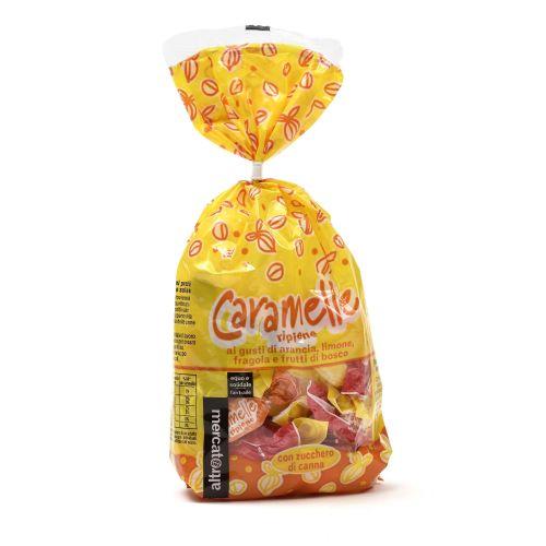Caramelle Ripiene Frutta Mista 200 g (min. acquisto 10 pezzi)