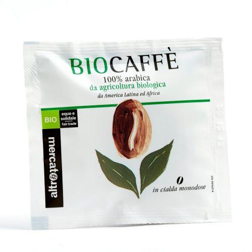 Caffè 100% Arabica Biocaffè In Cialda BIO 7 g (min. acquisto 10 pezzi)