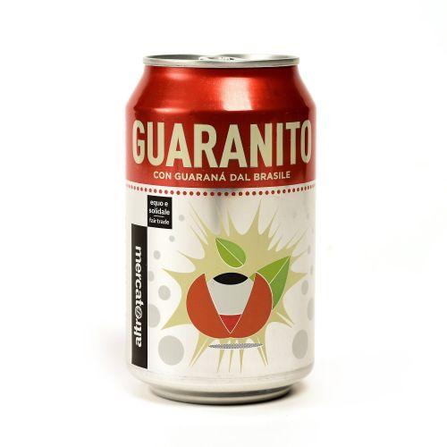 Bevanda gassata guaranito Al guaranà Lattina 330 Ml (min. acquisto 10 pezzi)