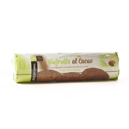 Biscotti Biofrolle Al Cacao BIO 260 g (min. acquisto 10 pezzi)