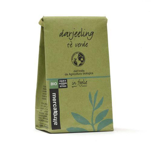Tè Verde Darjeeling Sfuso BIO 50 g (min. acquisto 10 pezzi)