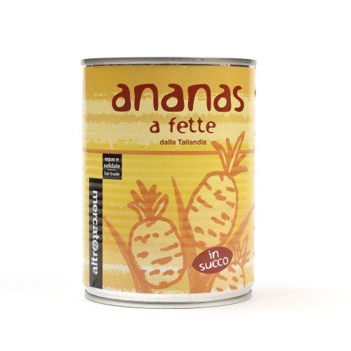 Ananas A Fette In Succo 560 g (min. acquisto 10 pezzi)