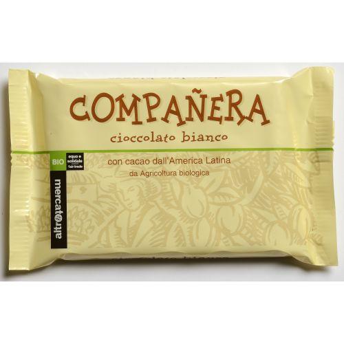Cioccolato Companera Bianco BIO 100 g (min. acquisto 10 pezzi)