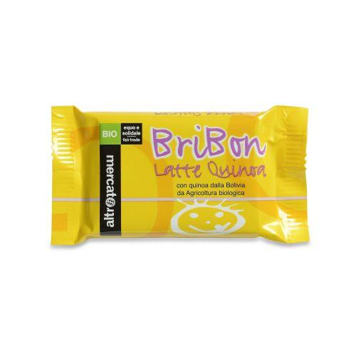 Cioccolato Snack Bribon Al Latte E Quinoa Soffiata BIO 30 g (min. acquisto 10 pezzi)