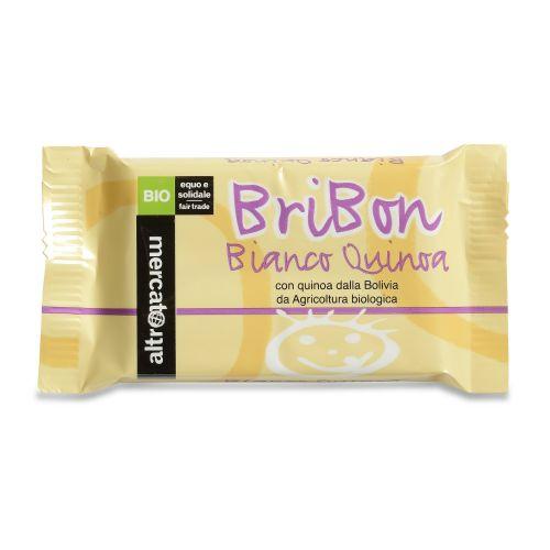 Cioccolato Snack Bribon Bianco E Quinoa Soffiata BIO 30 g (min. acquisto 10 pezzi)