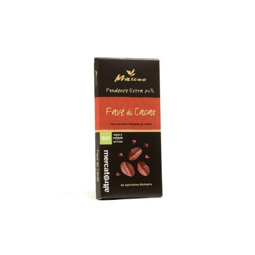 Cioccolato Mascao Fondente Extra Fave Di Cacao BIO 100 g (min. acquisto 10 pezzi)