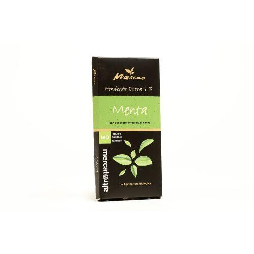 Cioccolato Mascao Fondente Extra Alla Menta BIO 100 g (min. acquisto 10 pezzi)
