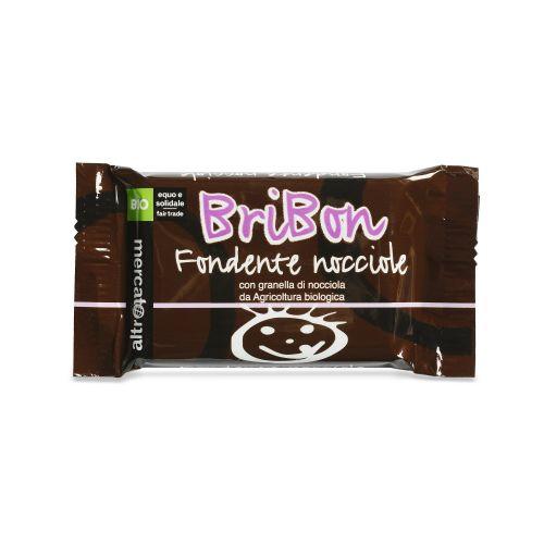 Cioccolato Snack Bribon Fondente E Nocciole BIO 30 g (min. acquisto 10 pezzi)