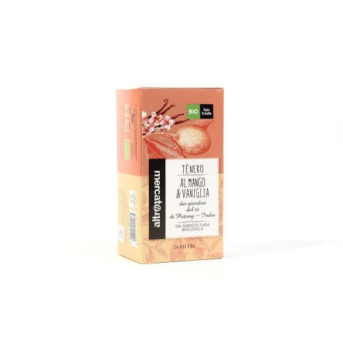 Tè Nero Mango E Vaniglia India In Filtri BIO 20 Filtri (min. acquisto 10 pezzi)