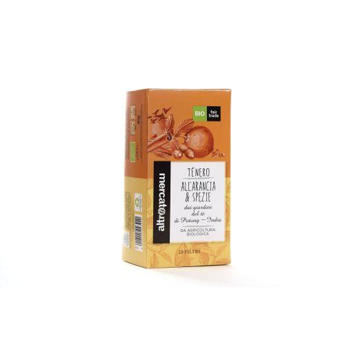 Tè Nero Arancio E Spezie India In Filtri BIO 20 Filtri (min. acquisto 10 pezzi)