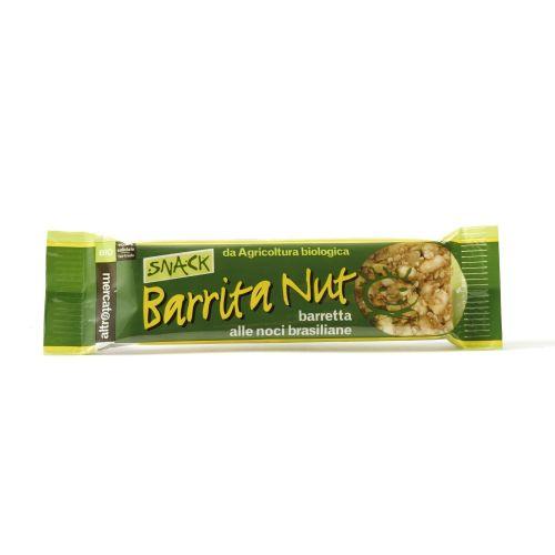 Barretta Barrita Nut Con Noci Brasiliane E Anacardi BIO 25 g (min. acquisto 10 pezzi)