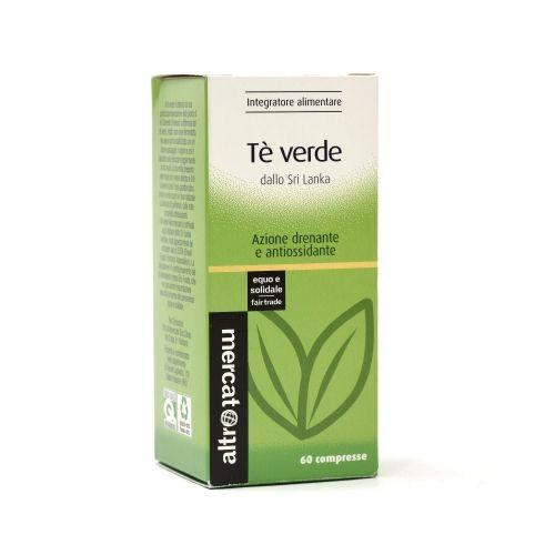 Tè Verde Sri Lanka Compresse 60 Cps 42 g (min. acquisto 10 pezzi)