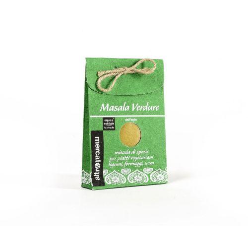Miscela Di Spezie Masala Per Verdure India 50 g (min. acquisto 10 pezzi)