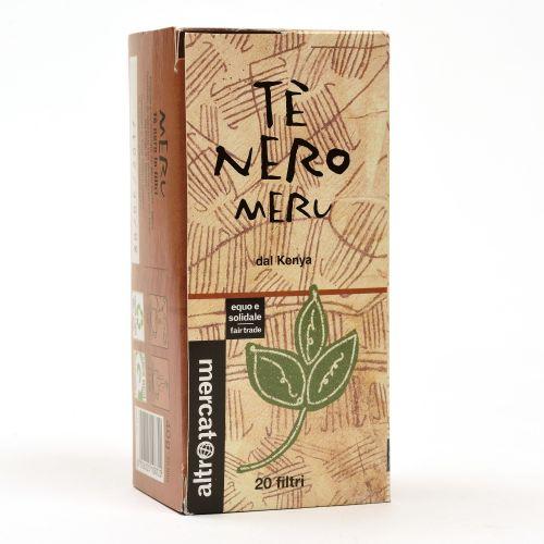 Tè Nero Meru Kenya In Filtri 20 Filtri (min. acquisto 10 pezzi)