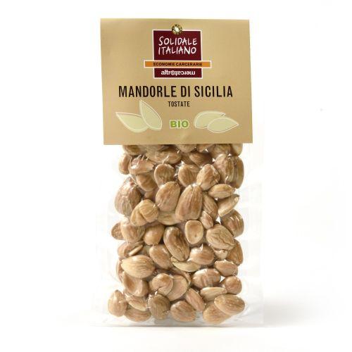 Mandorle Tostate Di Sicilia BIO 100 g (min. acquisto 10 pezzi)